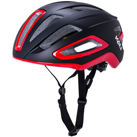 Kali Uno SLD Helmet, matt black/red